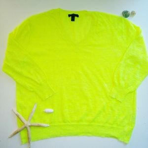 J.Crew linen knit sweater